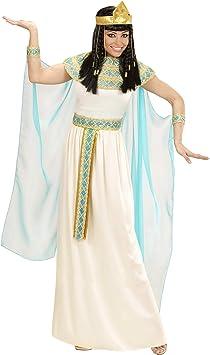 WIDMANN 49423 adultos Disfraz Cleopatra, vestido con cinturón ...