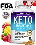 Keto Burn Pills Ketosis Weight Loss - 1200 Mg Ultra Advanced Natural Ketogenic Fat Burner Using Ketone Diet, Boost…