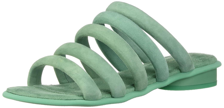 Kelsi Dagger Brooklyn Women's Saga Flat Sandal B076XHFD2W 8 B(M) US|Shamrock