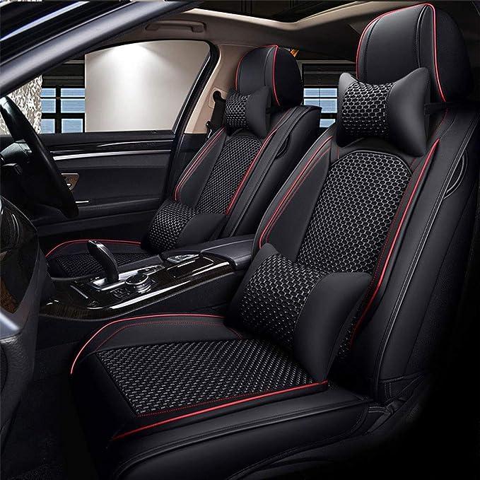Color : Leopard YangD Autositzbez/üge Vordersitze Universal Sitzbez/üge Auto mit Drachenmuster f/ür Fahrersitz und Beifahrer Aus Schonbez/üge 4Pcs