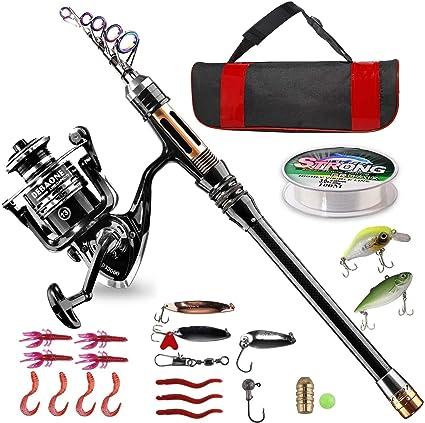Kids or  starter kit 6 ft Rod /& Reel Complete Set for Coarse Fishing