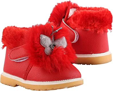 Faux Leather Casual Half Boots For Girls