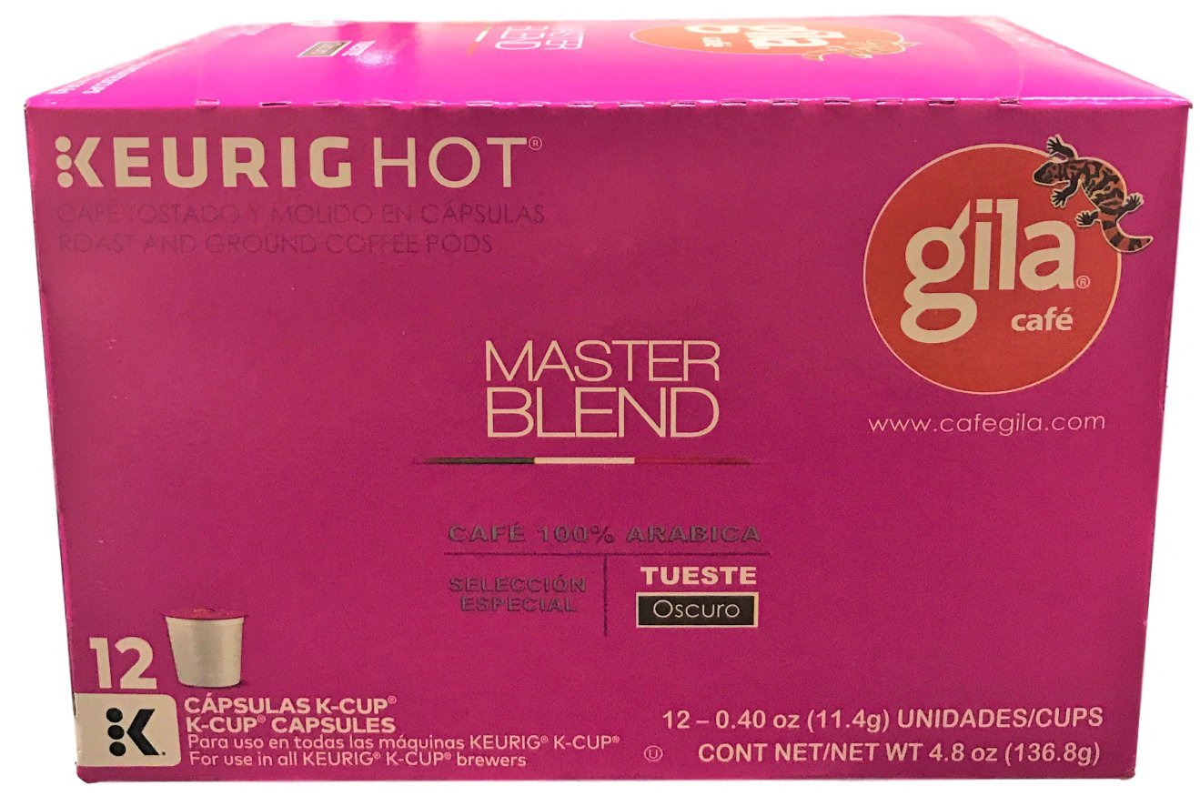Café Gila Master Blend Coffee Single Serve Pods, 12 Count Box (12 Pods): Amazon.com: Grocery & Gourmet Food