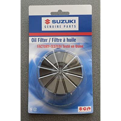 Suzuki OEM Oil Filter GSXR Boulevard Hayabusa Kingquad Eiger Vstrom 16510-07J00: Automotive
