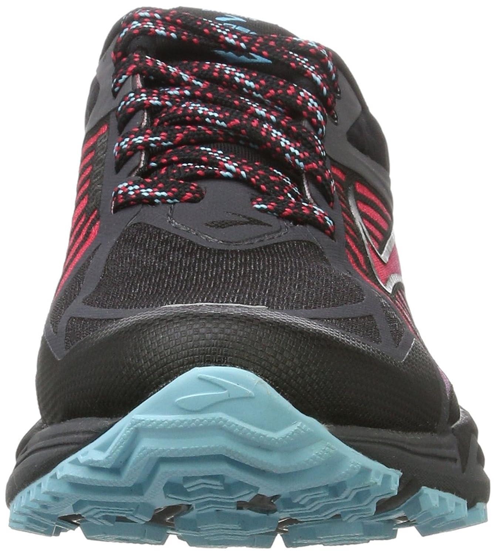 Caldera, Zapatos para Correr para Mujer, Multicolor (Anthracite/Azalea/Black), 38 EU Brooks