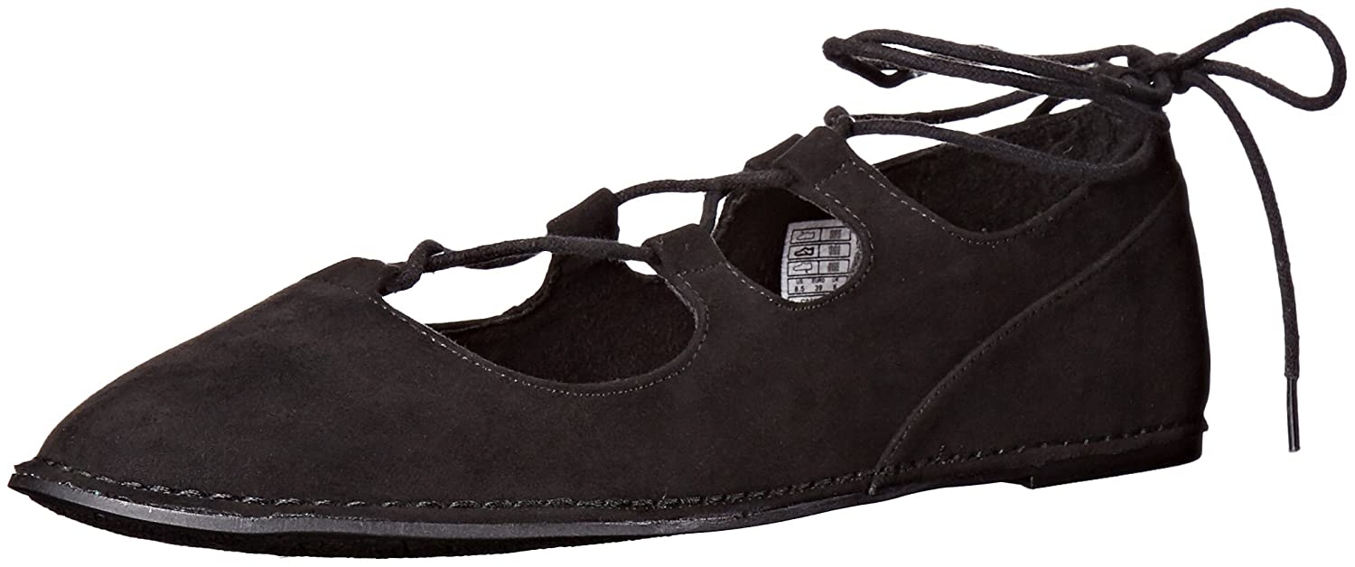 Rocket Dog Women's Malt Coast Fabric Pointed Toe Flat B01CHIKLUQ 8.5 B(M) US|Black