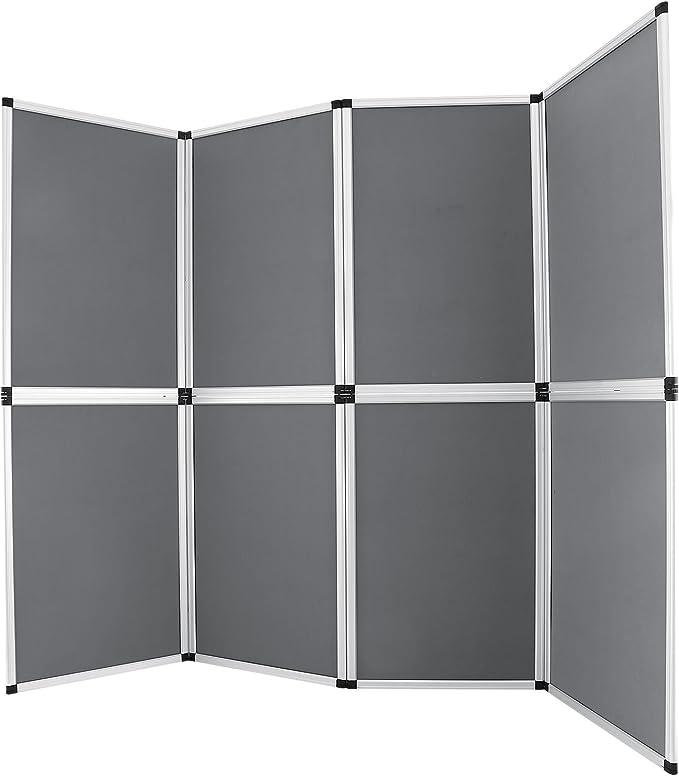 BuoQua Separador divisorio con 8 paneles (61 x 91 cm) Pantalla de ...