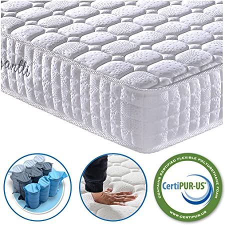 Vesgantti Pocket Spring Mattress With Breathable Foam - Budget Friendly Pick