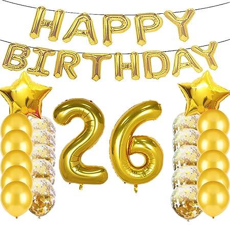 Sweet 26 cumpleaños decoraciones suministros de fiesta ...