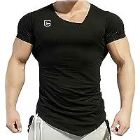 THE EG STORE Men's Poly Cotton Gym Fit T-Shirt