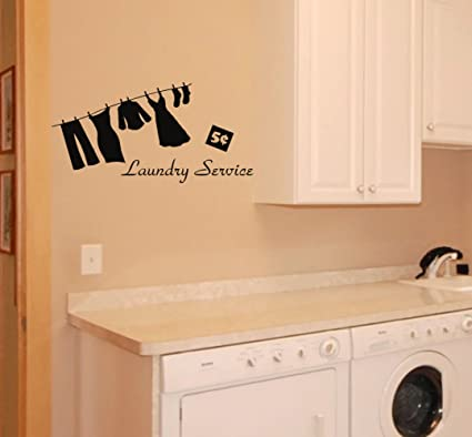 Laundry Room wall decal & Amazon.com: Laundry Room wall decal: Home u0026 Kitchen