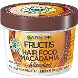 Garnier Fructis Hair Food Macadamia Mascarilla 3 en 1-390 ml