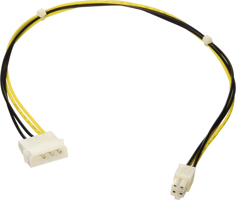 Monoprice 101321 P4 to ATX Power Supply Adaptor, 4.8 x 4.6 x 0.8 inches