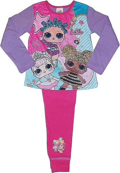 LOL Surprise Girls//Kids Dolls Childrens Nightie Nightdress Pyjamas Age 2-8 Years