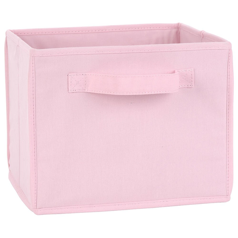 Amazon.com : Koala Baby Canvas Bin   Pink : Nursery Storage Baskets : Baby