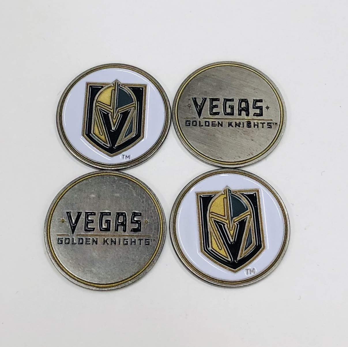 NHL ラスベガス ゴールデンナイツ ゴルフボールマーカー (4個入り)   B07P1YNTNL