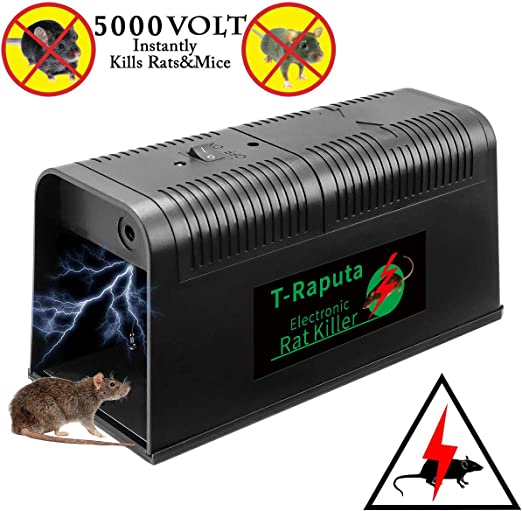 Humane Rat Trap Cage Animal Pest Rodent Mice Mouse Control Bait Catch Capture C