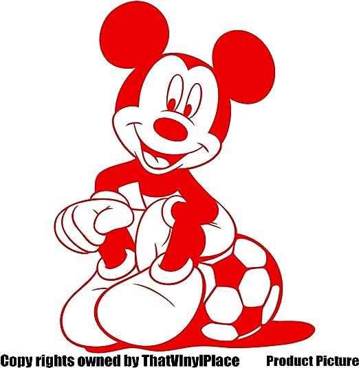 25 cm x 18 cm Mickey mouse pegatinas color 18 colores disponibles en stock Disney, pelota,