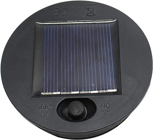 X-PREK 2 Pack Solar Lantern Light Replacement Top for Outdoor Hanging Lanterns 2 Pack