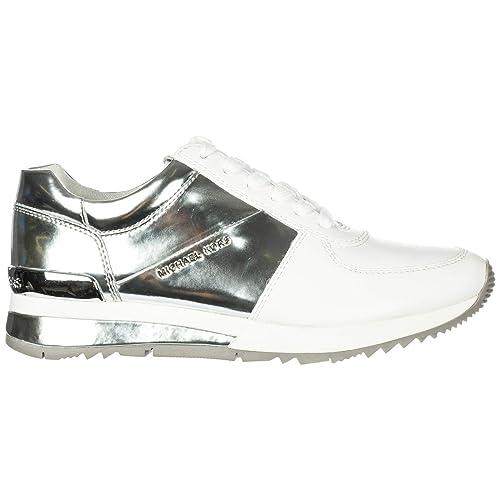 Michael Kors Zapatillas Deportivas Mujer Opt/Silver 36.5 EU: Amazon.es: Zapatos y complementos