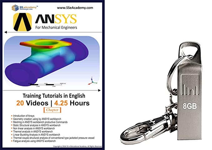 ANSYS Workbench - Training Tutorials in English [USB]: Amazon in