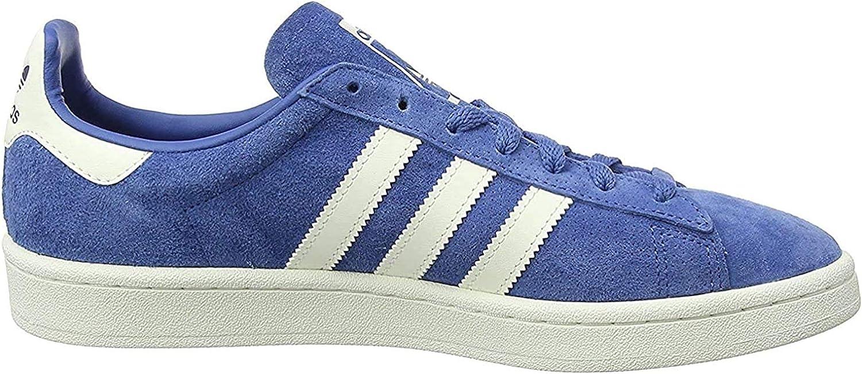 adidas Campus, Sneaker Uomo Blu Trace Blue F17 Chalkwhite Gold Met