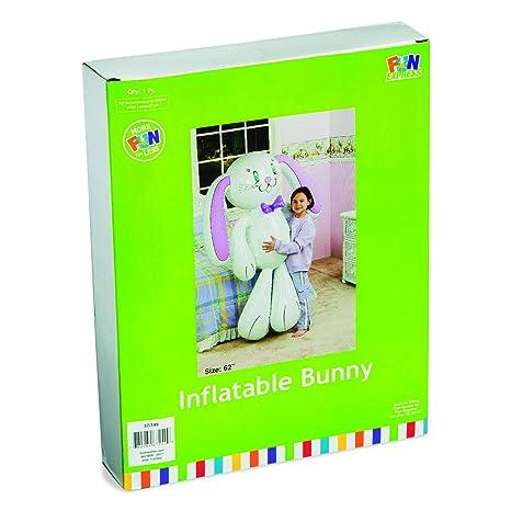 Easter Jumbo Vinyl Inflatable Bunny Fun Express 37//149