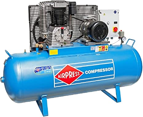 Druckluft Kompressor 10 Ps 500 L 15 Bar Typ K500 1500s Kolbenkompressor Werkstatt Industrie Baumarkt
