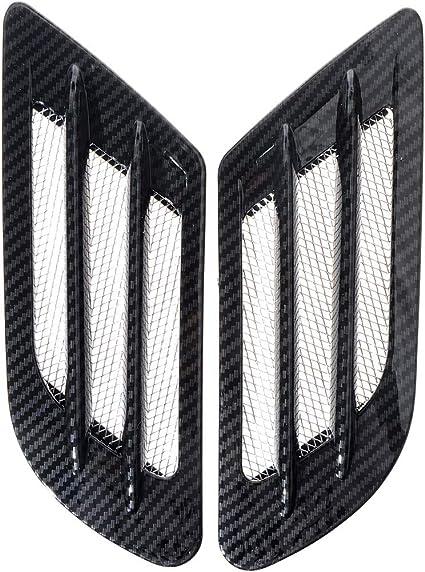 Amazon.com: ZYHW Car Air Flow Sticker Adhesive Side Vent Fender Intake Decor Black 2Pcs: Automotive