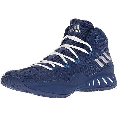 adidas Crazy Explosive 2019 Shoe - Men's Basketball 13.5 Collegiate Navy/Silver Metallic | Basketball