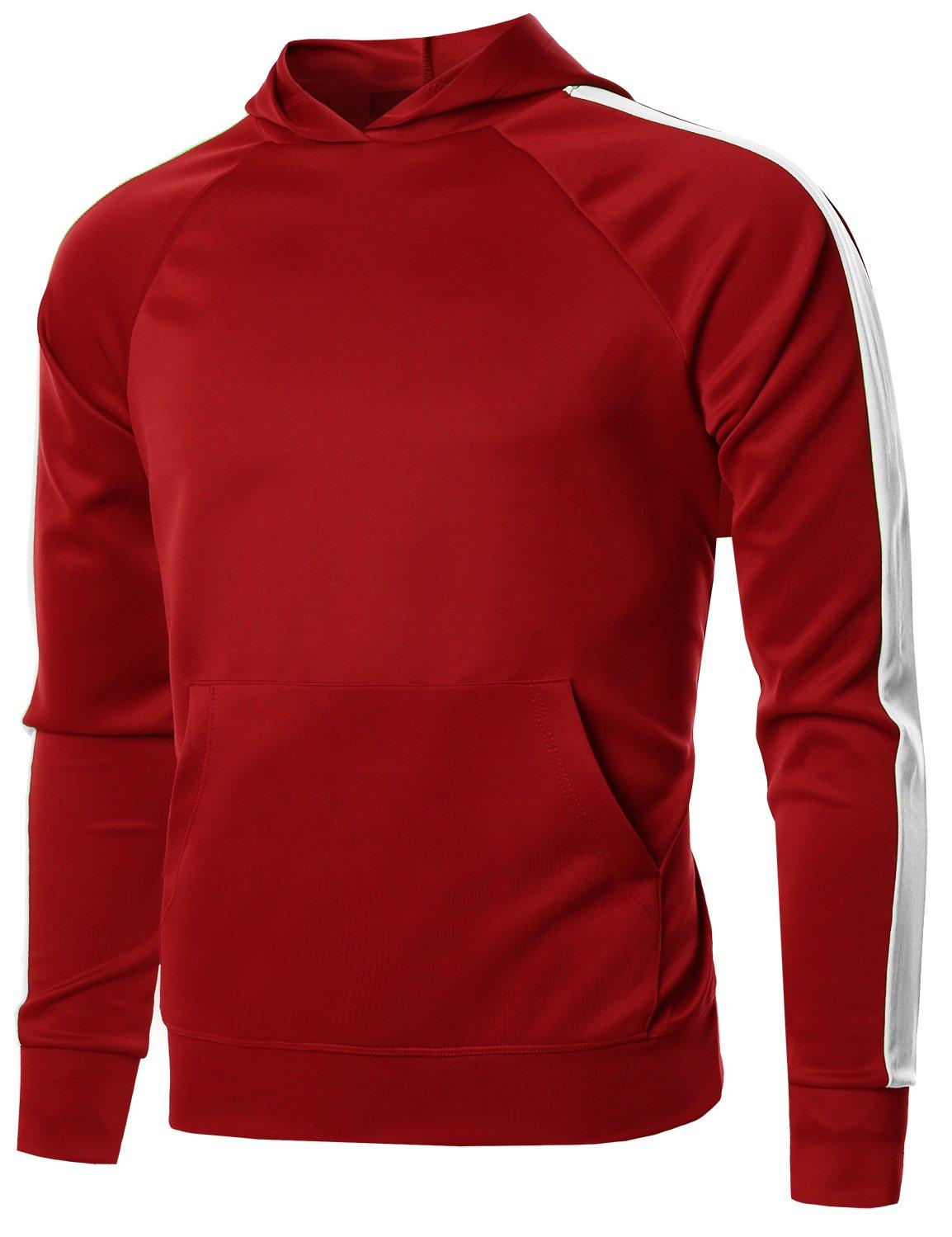 Style by William PANTS メンズ B07B8TC4P8 Medium|Fsmhdl0008 Red White Fsmhdl0008 Red White Medium