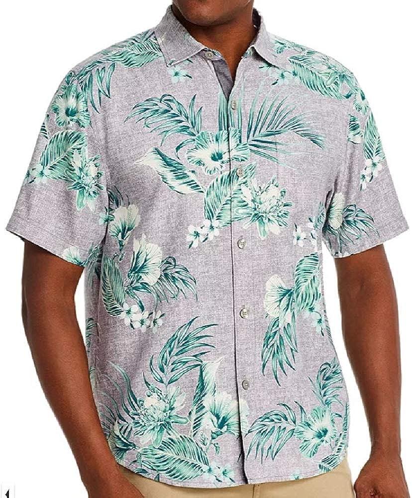 Tommy Bahama Goa Gardens Silk Camp Shirt