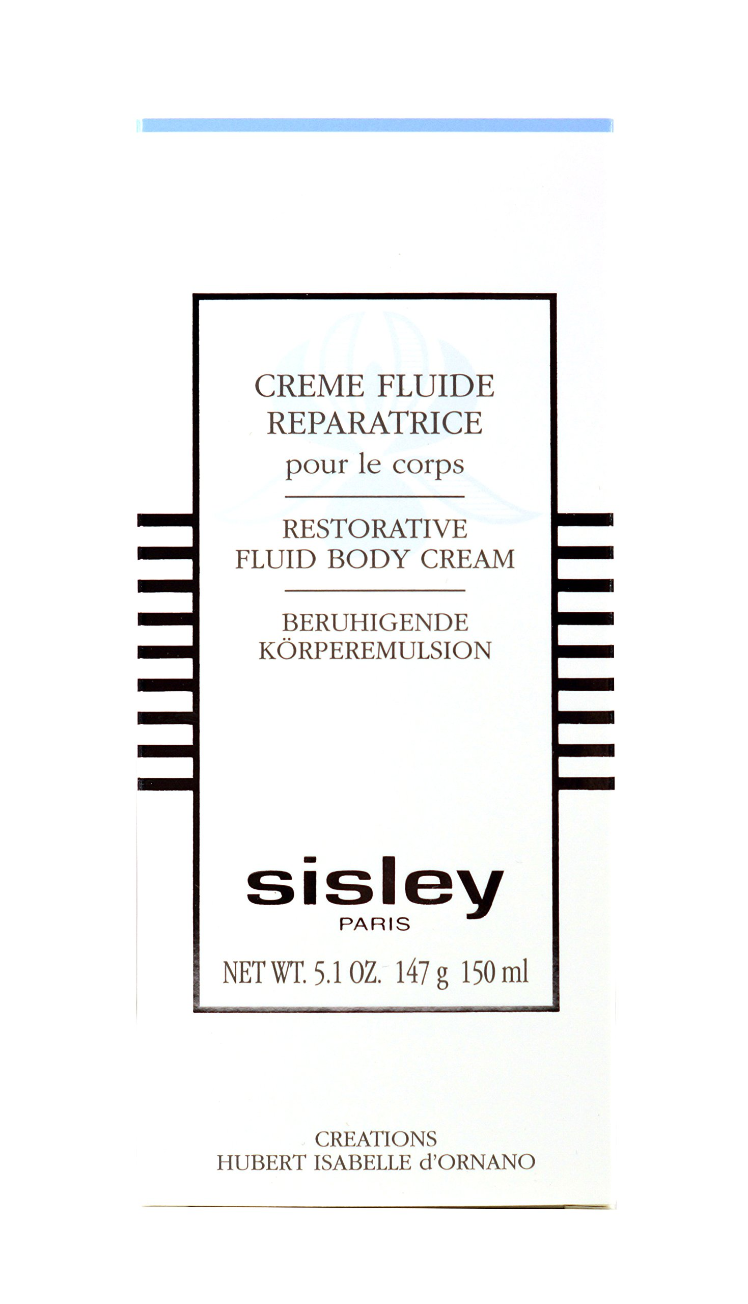 Sisley Restorative Fluid Body Cream, 5.1-Ounce Tube