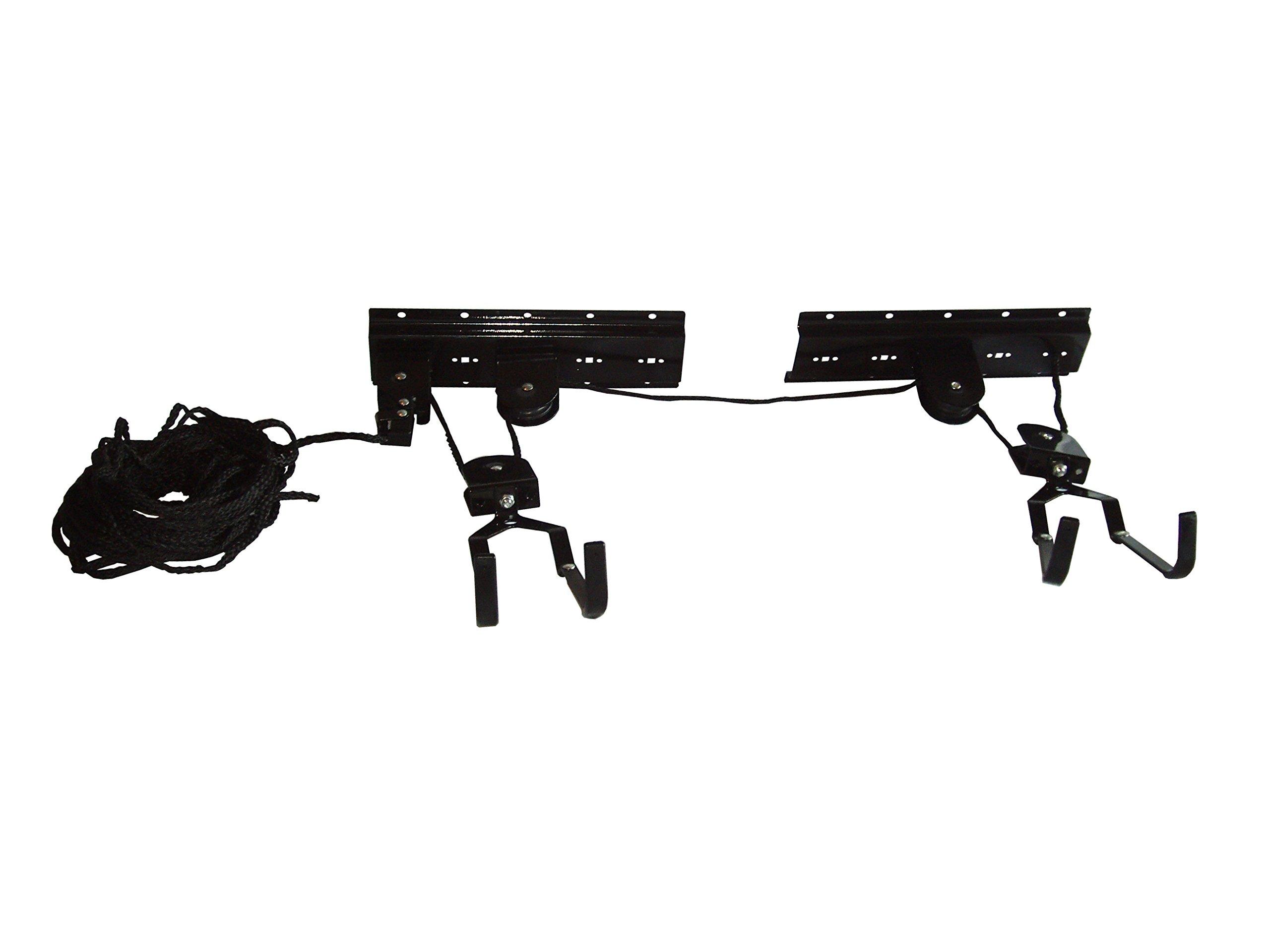 gearup Up and Away Bike Hoist System, Black, 50-Pound