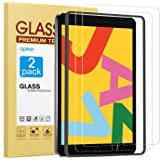 [2 Pack] Screen Protector Compatible with iPad 8th Generation 10.2 Inch (iPad 8), apiker Tempered Glass Screen Protector Comp