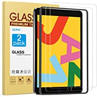 [2 Pack] Screen Protector for iPad 8th 7th Generation 10.2 Inch (iPad 8 7) 2020 2019 Release, apiker Tempered Glass…