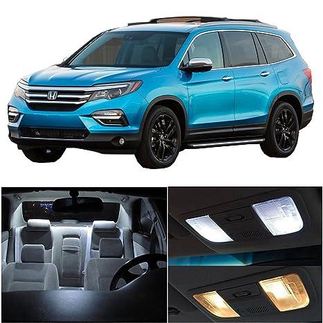 Honda Pilot Accessories >> Amazon Com Cciyu 17 Pack White Led Bulb Led Interior Lights