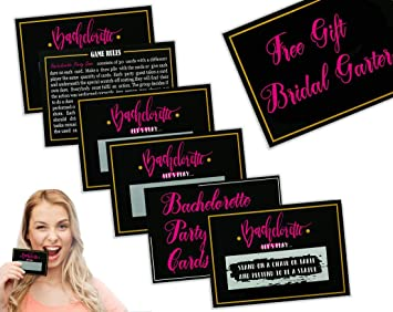 Bachelorette Party Games 30 Funny Scratch Off Bachelorette Party Dare Cards Plus Bridal