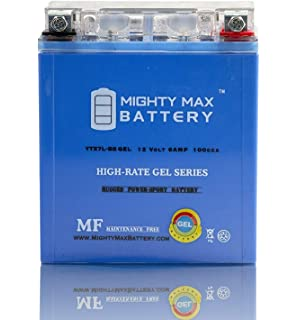 Amazoncom Mighty Max Battery Ytx7l Bs 12v 6ah Battery For Kawasaki