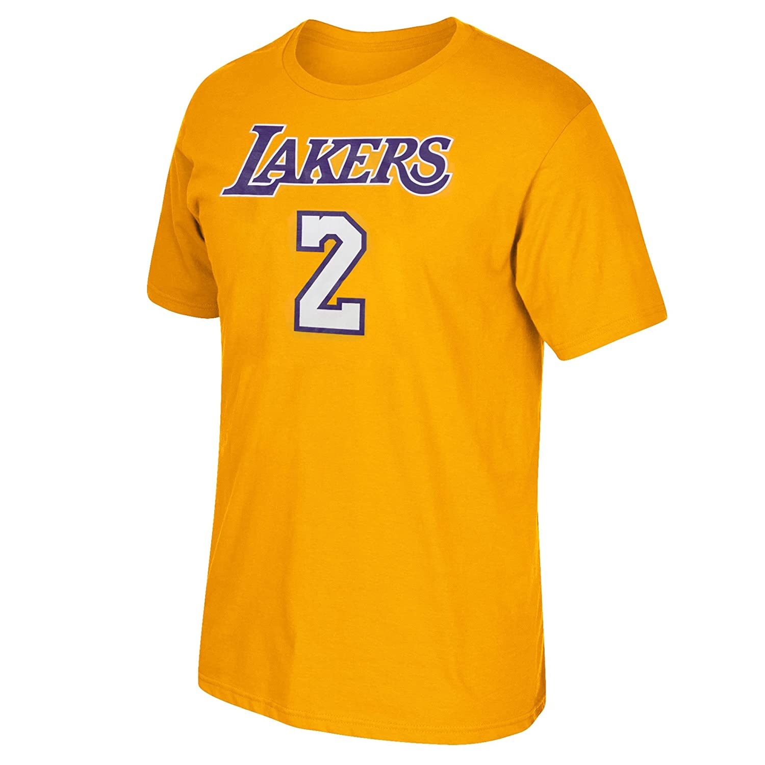 Amazon.com : Los Angeles Lakers Lonzo Ball adidas Player T-Shirt : Sports & Outdoors