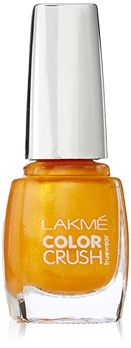 Buy Lakme Truewear Color Crush Yellow 9ml Online At Low Prices In India