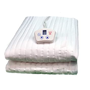heated mattress pad queen dual control amazon electrowarmth m60fl queen one control heated mattress pad 60inch by 80inch amazoncom