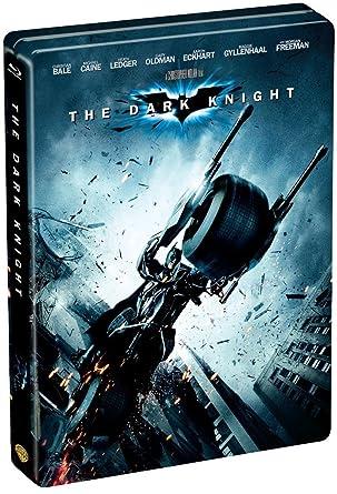 Amazon Com The Dark Knight Limited Edition Steel Book Dvd Dvd Christopher Nolan Movies Tv