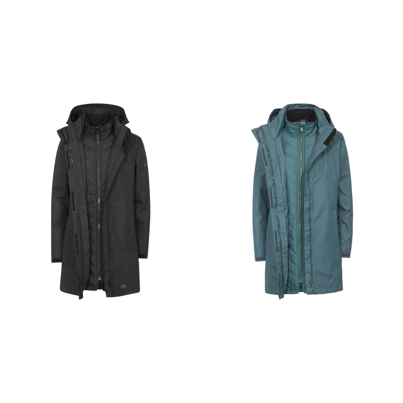 745ef2d14f8 Trespass Womens Ladies Alissa II Waterproof 3-in-1 Jacket  Amazon.in   Clothing   Accessories