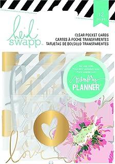 Amazon.com: American Crafts Heidi Swapp Memory Planner 947 ...
