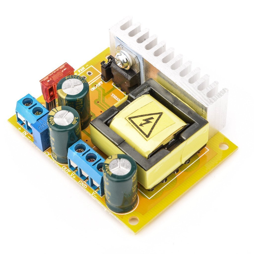 Daoki High Voltage Dc Boost Converter 45v 390v 110v 20kv Flyback Power Supply Circuit 220v Zvs Capacitor Charging Single Output Module Home Audio Theater
