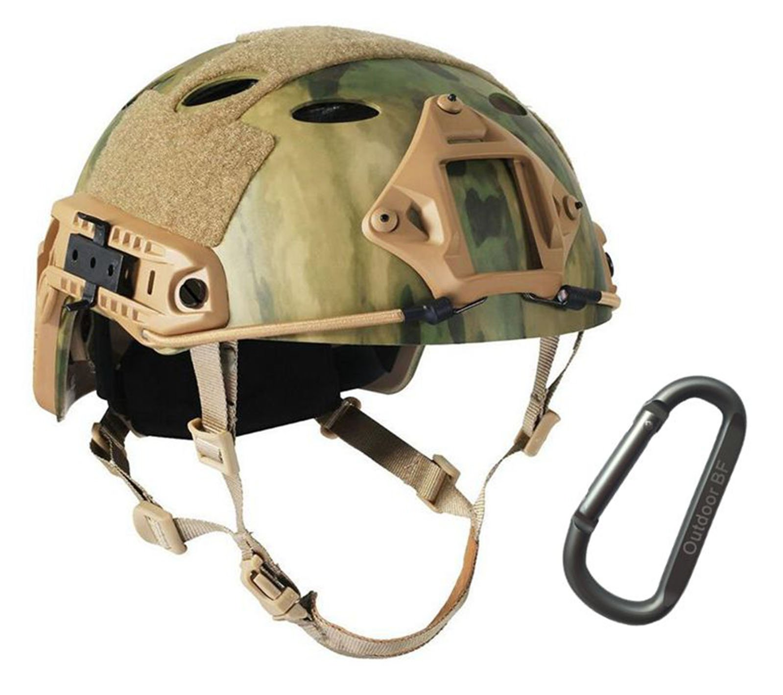 Tactical Fast Adjustable Helmet PJ Type (AT-FG) by Outdoor BF
