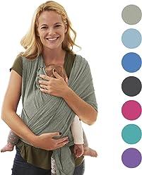 Babytragetuch für Neugeborene | Das perfekte Geschenk Sommer | Designed in Berlin & London | BabyChamp