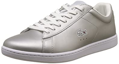 b508bf663e Lacoste Sport Carnaby Evo 117 3 Baskets Basses Femme, Gris (Lt Gry) 38