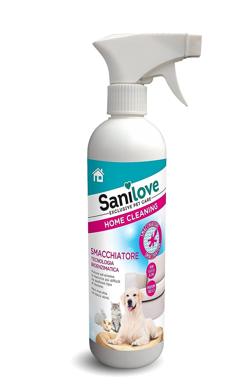 sanilove Quitamanchas Bio Enzimatico para tejidos: Amazon.es: Productos para mascotas
